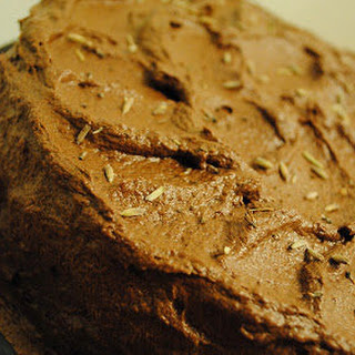 Brandied Earl Grey Chocolate Cake.
