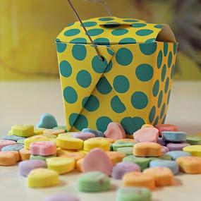 Candy Hearts by Maureen Rueffer - Food & Drink Candy & Dessert (  )