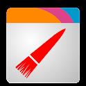 Wizz Theme Cyan Transparent logo