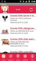 Screenshot of T-Sconto