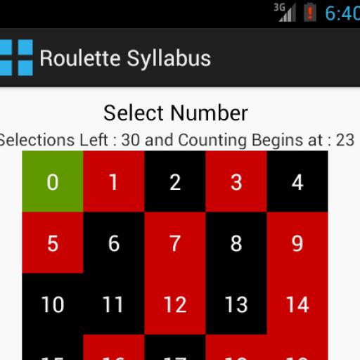 Roulette Syllabus