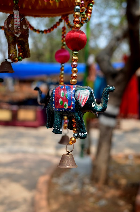 Decorative item by Saranya Ravichander - Artistic Objects Other Objects ( decorative, color, elephant )