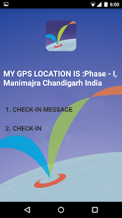Check In GPS- screenshot thumbnail