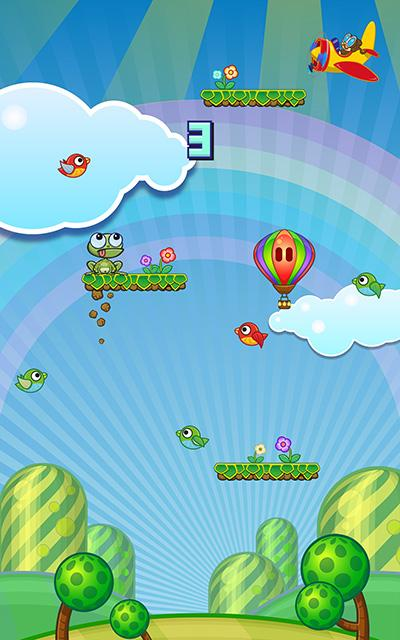 Toss The Floppy Frog (Frogger)- screenshot