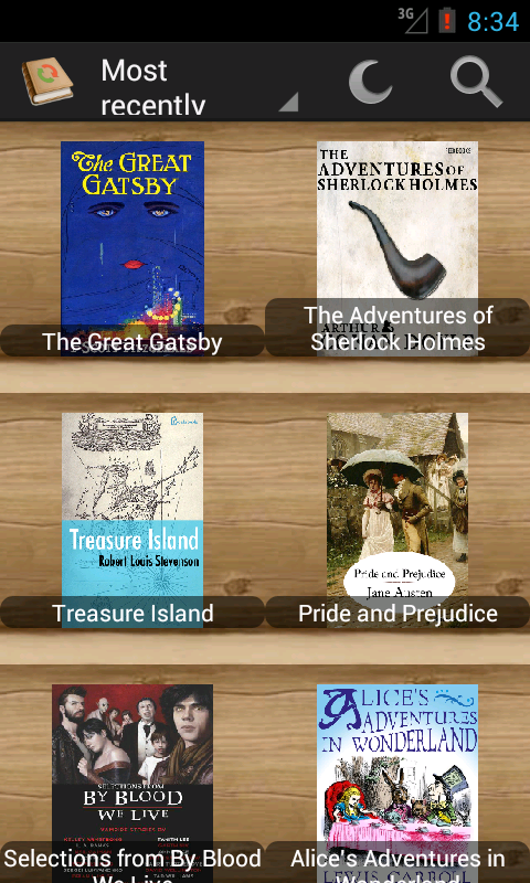 PageTurner eBook Reader- screenshot