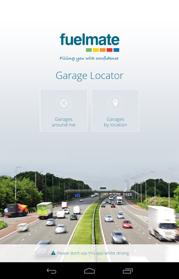 Fuelmate Garage Locator- screenshot