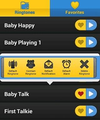 Baby Soundboard - screenshot