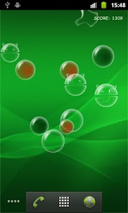 Bubble Droid Live Wallpaper - screenshot thumbnail