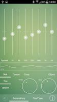 Screenshot of Poweramp Skin Sphere Green
