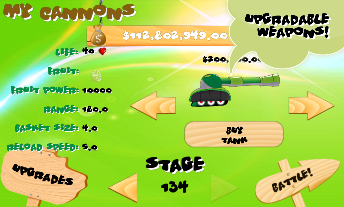 Invasion of the Veggies- screenshot
