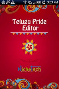 Telugu Pride Telugu Editor - screenshot thumbnail