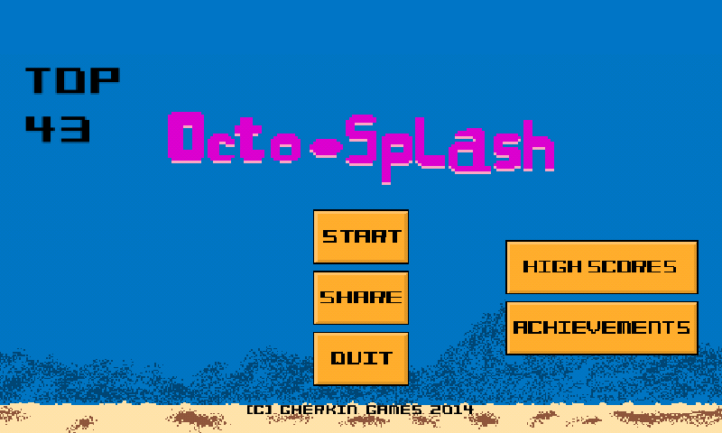 Octo Splash - screenshot