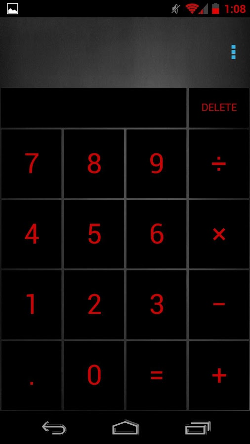 SeeingRed Theme Chooser Theme - screenshot