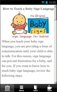 Baby Sign Language Guide
