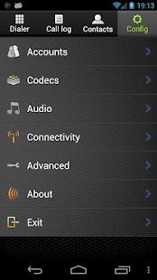 VoixTalk SIP Softphone - screenshot thumbnail