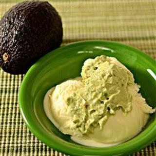 Avocado Ice Cream Sauce