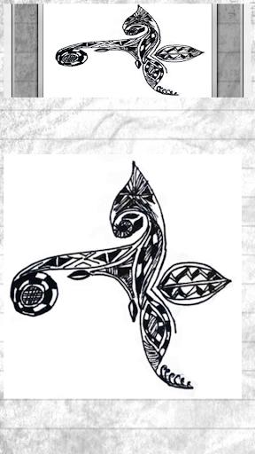 Henna Sketch Design Patterns