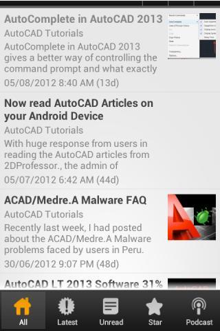 AutoCAD Tutorial- screenshot