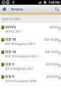 Screenshot of ICD Lite 2012