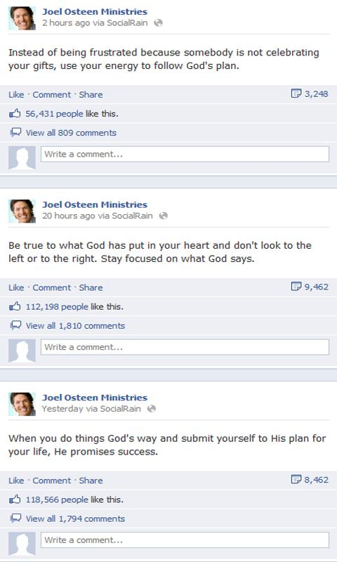 Joel Osteen - screenshot