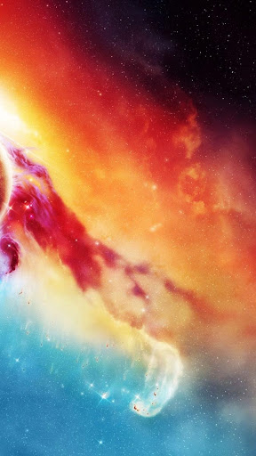 Nebula Galaxy Live Wallpaper