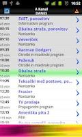 Screenshot of TV Spored ++