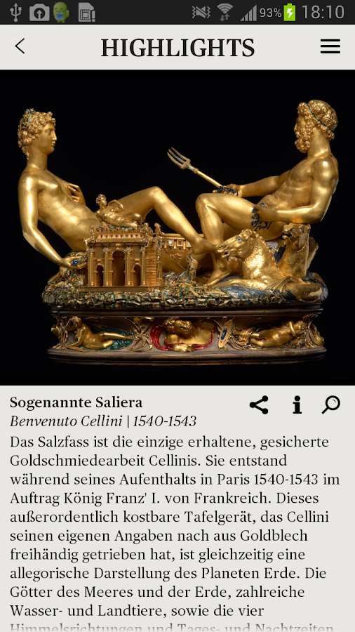 Kunsthistorisches Museum Wien - screenshot