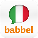 Learn Italian with babbel.com logo