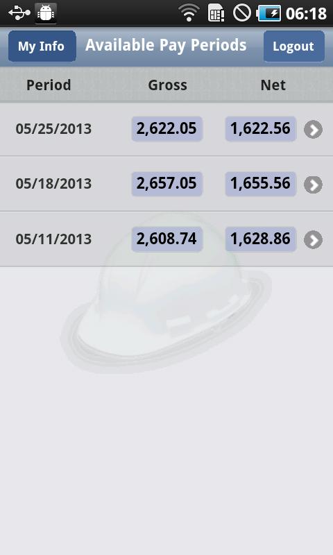 ePaystub - screenshot