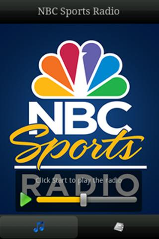 NBC Sports Radio- screenshot