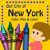 New York Color, Play and Learn