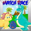 Dinosaur Toddler Match Ad Free icon