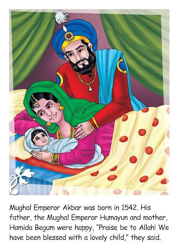 Great Personalities Akbar