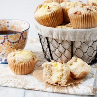 Banana Cream Cheese Muffins.