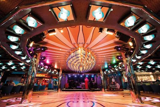 Costa-Deliziosa-Grand-Bar-Mirabilis - There's live music and a dance floor at Grand Bar Mirabilis, on deck 2 of Costa Deliziosa.