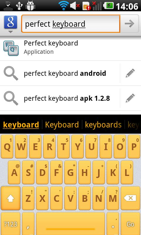 Mello Pro - HD Keyboard Theme- screenshot