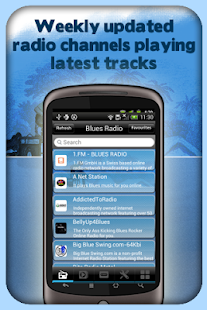玩音樂App|Blues Radio - With Recording免費|APP試玩