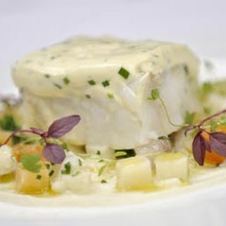 Cod With Ricotta And Chive Sauce