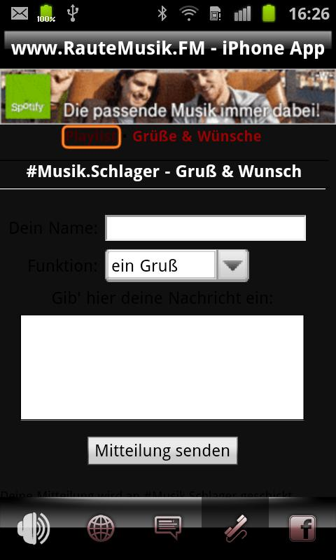 SchlagerRadio.FM- screenshot