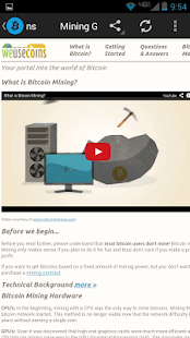 Bitcoin Buzz Feeds - screenshot thumbnail