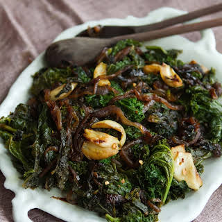 Slow Cooked Kale.