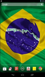 Flag of Brazil (wave effect) - screenshot thumbnail