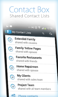 ContactBox - Shared Contacts- screenshot thumbnail