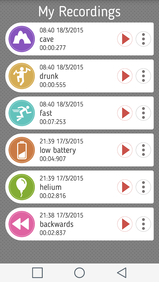 Voice Changer With Effects Android Apps On Google Play