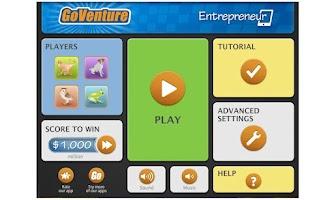 Screenshot of GoVenture Entrepreneur
