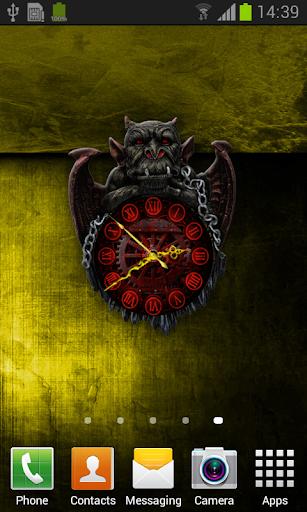 玩免費漫畫APP|下載Gargoyle Clock Live Wallpaper app不用錢|硬是要APP
