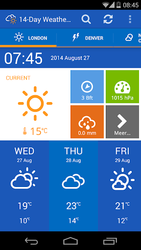 14-D Weather Forecast - Free