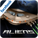 Aliens invaders logo