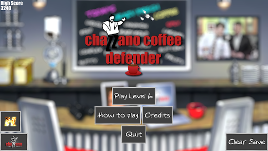 Chazzano Coffee Defender- screenshot thumbnail