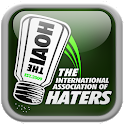 The IAOH Official Haters App icon